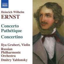 Heinrich Wilhelm Ernst (1814-1865): Musik für Violine & Orchester, CD