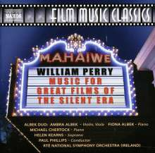 William Perry (geb. 1930): Music for Great Films of the Silent Era, CD