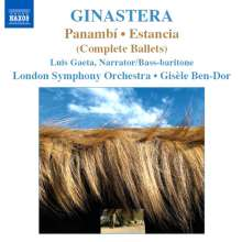 Alberto Ginastera (1916-1983): Panambi (Ballettmusik), CD