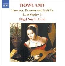 John Dowland (1562-1626): Lautenwerke Vol.1, CD