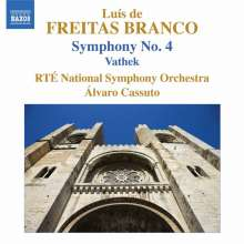 Luis de Freitas Branco (1890-1955): Symphonie Nr.4, CD