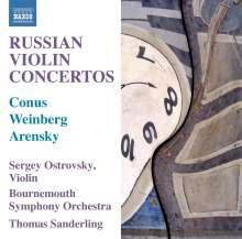 Sergey Ostrovsky - Russian Violin Concertos, CD