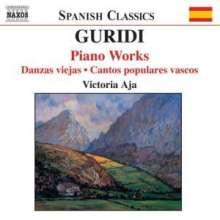 Jesus Guridi (1886-1961): Klavierwerke, CD