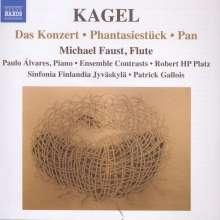 Mauricio Kagel (1931-2008): Das Konzert für Flöte & Orchester, CD