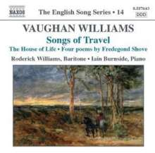 Ralph Vaughan Williams (1872-1958): Songs of Travel Nr.1-9, CD