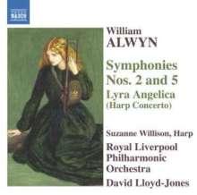 William Alwyn (1905-1985): Symphonien Nr.2 & 5, CD