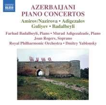 Azerbaijani Piano Concertos, CD