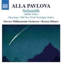 Alla Pavlova (geb. 1952): Sulamith (Ballett-Suite), CD