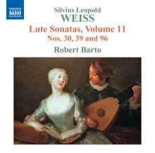 Silvius Leopold Weiss (1687-1750): Lautensonaten Vol.11, CD