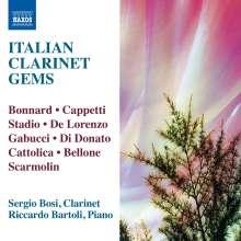 Sergio Bosi - Italian Clarinet Gems, CD