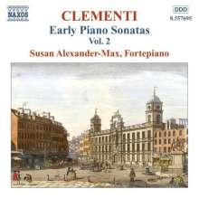 Muzio Clementi (1752-1832): Klaviersonaten Vol.2, CD