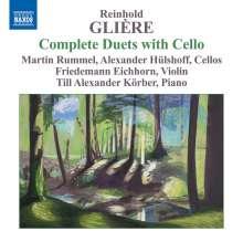 Reinhold Gliere (1875-1956): Sämtliche Duette mit Cello, CD