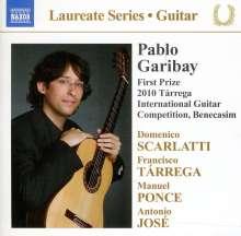 Pablo Garibay - Guitar Recital, CD