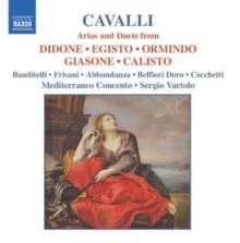 Pier Francesco Cavalli (1602-1676): Arien & Duette, CD