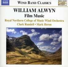 William Alwyn (1905-1985): Filmmusik (arr. für Bläser von Martin Ellerby), CD