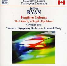 "Jeffrey Ryan (geb. 1962): Symphonie Nr.1 ""Fugitive Colours"", CD"
