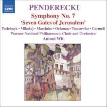 "Krzysztof Penderecki (geb. 1933): Symphonie Nr.7 ""Seven Gates of Jerusalem"", CD"