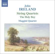 John Ireland (1879-1962): Streichquartette Nr.1 & 2, CD