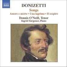Gaetano Donizetti (1797-1848): Lieder, CD