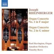 Joseph Rheinberger (1839-1901): Orgelkonzerte Nr.1 & 2 (opp.137 & 177), CD
