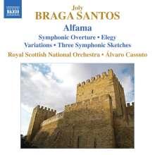 Joly Braga Santos (1924-1988): Alfama (Ballettsuite), CD