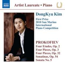 DongKyu Kim - Piano Recital, CD