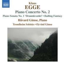 Klaus Egge (1906-1979): Klavierkonzert Nr.2, CD