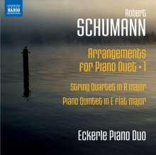 Robert Schumann (1810-1856): Arrangements für 2 Klaviere Vol.1, CD