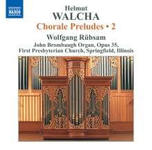 Helmut Walcha (geb. 1907): Choralvorspiele Vol.2, CD
