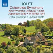 "Gustav Holst (1874-1934): Symphonie op.8 ""The Cotswold"", CD"