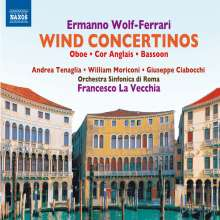 Ermanno Wolf-Ferrari (1876-1948): Bläserkonzerte, CD