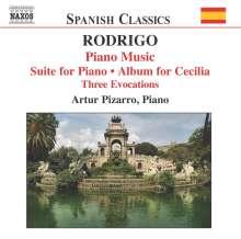 Joaquin Rodrigo (1902-1999): Klavierwerke Vol.2, CD