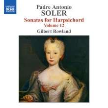 Antonio Soler (1729-1783): Sämtliche Cembalosonaten Vol.12, CD