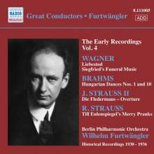 Furtwängler - The Early Recordings Vol.4, CD