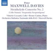 Peter Maxwell Davies (1934-2016): Strathclyde Concerto Nr.2 für Cello & Orchester, CD
