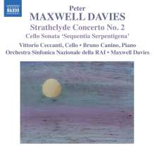 Peter Maxwell Davies (geb. 1934): Strathclyde Concerto Nr.2 für Cello & Orchester, CD
