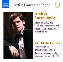 Peter Iljitsch Tschaikowsky (1840-1893): Klavierwerke, CD