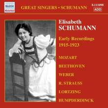 Elisabeth Schumann - Early Recordings, CD