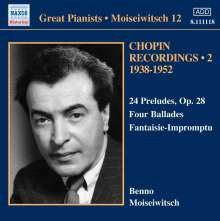 Benno Moiseiwitsch - Chopin Recordings Vol.2, CD