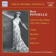 Rosa Ponselle - American Recordings Vol.1, CD