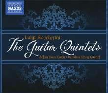 Luigi Boccherini (1743-1805): Gitarrenquintette Nr.1-7,9 (G.445-451,453), 3 CDs