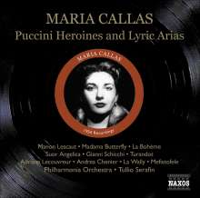 Maria Callas  - Puccini Heroines & Lyric Arias, CD