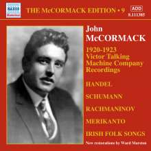 John McCormack-Edition Vol.9 / Victor Talking Machine Company Recordings 1920-1923, CD