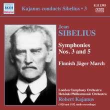 Kajanus conducts Sibelius Vol.3, CD