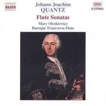 Johann Joachim Quantz (1697-1773): 4 Flötensonaten, CD