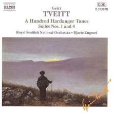 Geirr Tveitt (1908-1981): Hardanger-Suiten Nr.1 & 4, CD