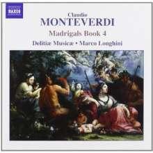 Claudio Monteverdi (1567-1643): Madrigali Libro 4, CD