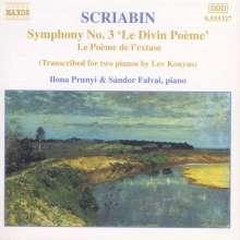 Alexander Scriabin (1872-1915): Symphonie Nr.3 für 2 Klaviere, CD