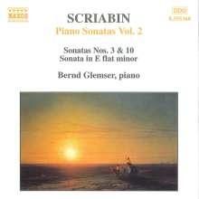 Alexander Scriabin (1872-1915): Klaviersonaten Nr.3 & 10, CD