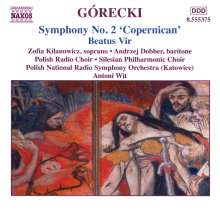 "Henryk Mikolaj Gorecki (1933-2010): Symphonie Nr.2 ""Kopernikowska"", CD"